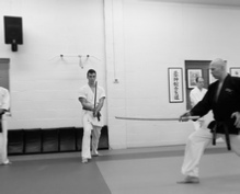 Melton White Tiger Iaido